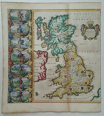 Blaeu map saxon Britain