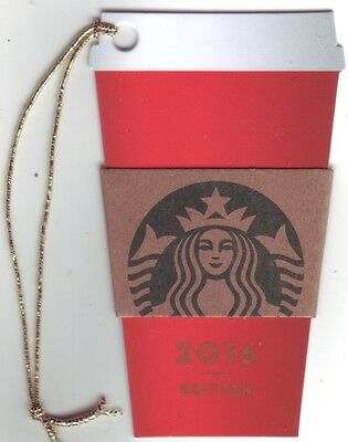 STARBUCKS Card from Germany / Christmas Edition | 2016 | 12
