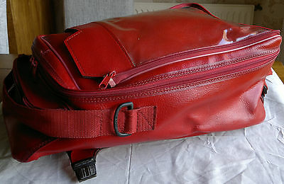 Baglux Bagster Omega 25 Lts Bottom Tank Bag Red
