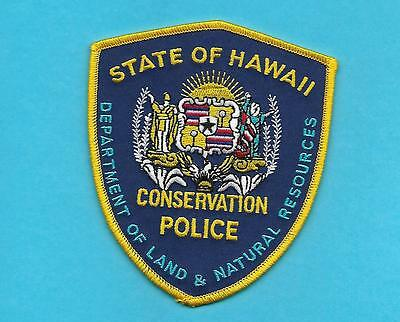 Hawaii-Very Hard To Get- Hawaii Dept Of Land & Nat Resources Police