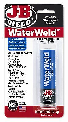 J-B Weld 8277 WaterWeld Underwater Epoxy Putty - 2 oz