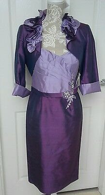 veni infantino ronald joyce mother of bride dress and bolero size 10 with tags