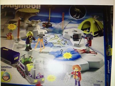 Playmobil Arctic Dino Expedition Base Camp 3184