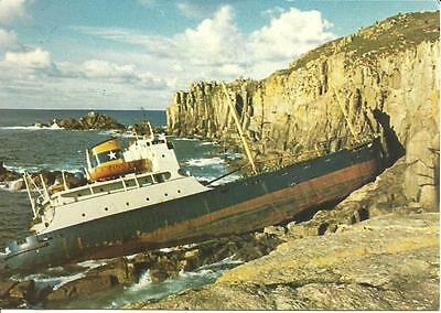 "SS ""NEFELI"" Total Wreck on 5th Nov. 1972 sailing between Garston/ Rotterdam"