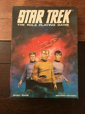 Star Trek RPG - 2nd Edition 1983 Games Workshop Role Playing Game