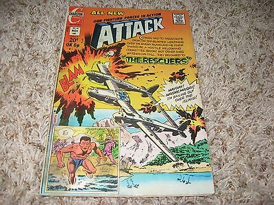 """Attack #14 (Charlton, 1973) – """"The Rescuers"""" – VG-"""