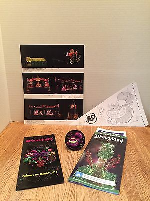Disneyland Main St Electrical Parade AP Days Cheshire Cat Button Pin NEW