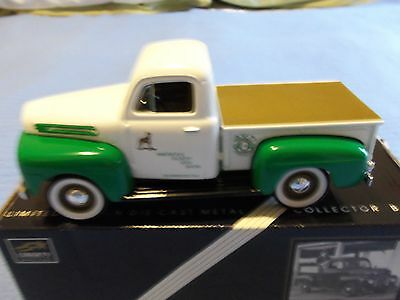 BLOOMSBURG FAIR 1948 FORD F-1 PICKUP BANK TRUCK/ LIMITED EDITION/w/CERTIFICATE