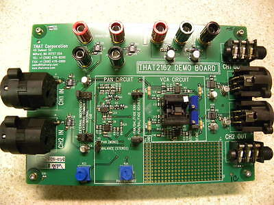THAT 2162 Voltage Controlled Amplifier Demo Board