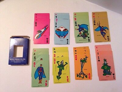 Vintage 1979 BLUE FALCON Crazy Eights Card Game Complete Deck Hanna Barbera