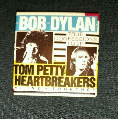 Original Bob Dylan 1986 Concert Tour Badge
