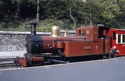 (404) Isle Of Man - Narrow Gauge - Maitland - Douglas Station - 35mm Slide