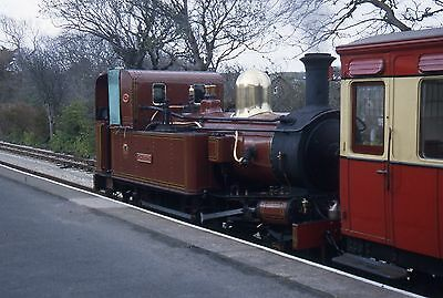 (304) Isle Of Man - Narrow Gauge -  G H Wood - 35mm Colour Slide