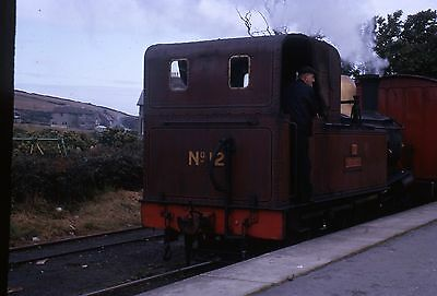(318) Isle Of Man - Narrow Gauge -  No. 12 Hutchinson - 35mm Colour Slide