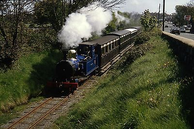 (422) Isle Of Man - Narrow Gauge - Mannin - Number 16 - 35mm Slide