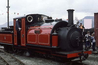 "(402) Ffestiniog Railway Narrow Gauge ""Prince"" - 35mm Colour Slide"