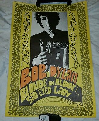 1967 Bob Dylan Two Sided Knost Poster