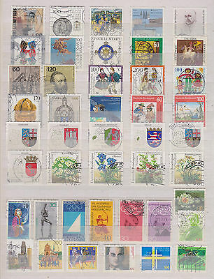 Collection Of Used Stamps From Germany , See Scan