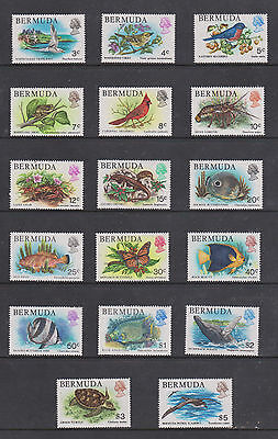 1978 Full Set Um/m  Wildlife Stamps From Bermuda   , See Scan