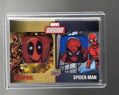 2016 Upper Deck  Marvel Annual Dual Character DCP-13 Patch card