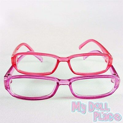 "Doll Glasses 2pc Set Pink & Purple Eye made for 18"" American Girl Doll Clothes"