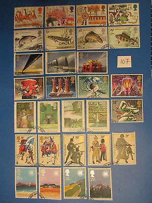1983 GB Commemoratives: Complete year set (all sets ex-fdc)  #107