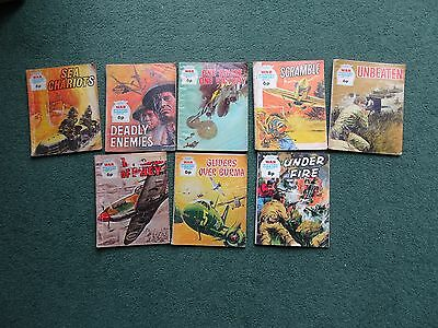 8 x BATTLE PICTURE LIBRARY COMICS COLLECTION from  1970s NR