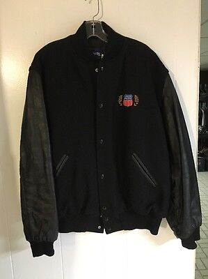 Union Pacific Railroad Holloway Original College Jacket XL Embroidered