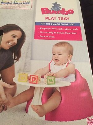 Bumbo Floor Seat Play Tray Brand New In Box