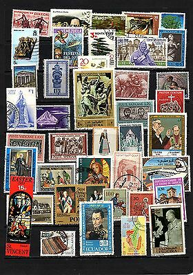 Thematics 40 all Different Collection129 World Wide Plus Sheetlets