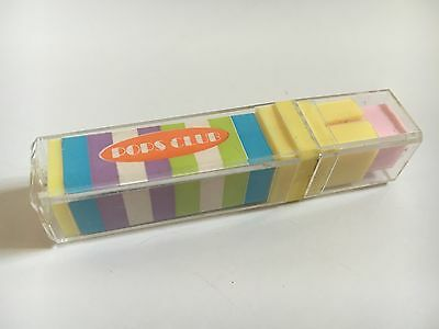80s - Eraser - Rubber - Pops Club - Lipstick Style - Cased - Vintage Stationery