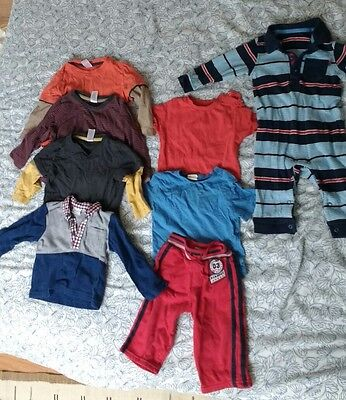 Job lot of boys/unisex baby/toddler clothes