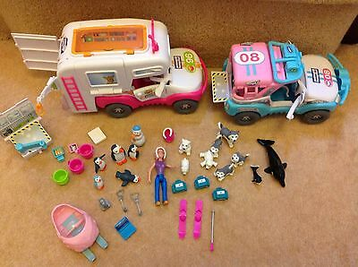 Animal Hospital Vehicles, Doll, Animals And Lots Of Accessories