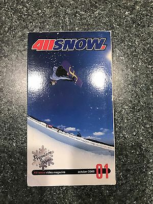 411VM Snow Issue 1 Snowboard VHS PAL