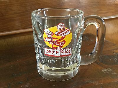 """Dog n suds mug, 4.25"""" high 3""""  diameter, excellent! Heavy!! Great graphics!"""