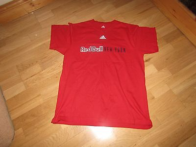 Adidas New York Red Bulls t-shirt, red, size L