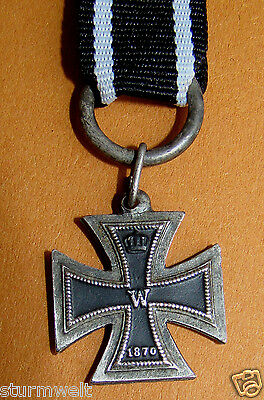 IMPERIAL GERMAN MINIATURE WWI IRON CROSS, 1st CLASS, 1870