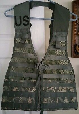 NEW Tactical Fighting Load Carrier Vest MOLLE II 2 ACU USGI