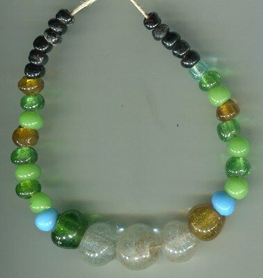 African Trade beads European glass beads Old assorted color padre type beads
