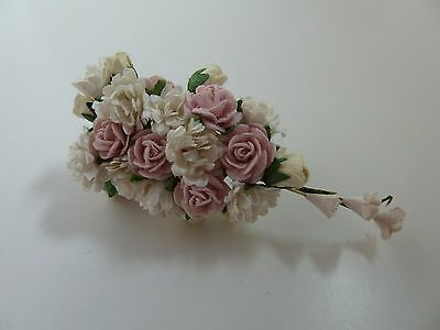 Dolls House Miniature 1:12 Scale Wedding Shop Handcrafted Flower Bouquet