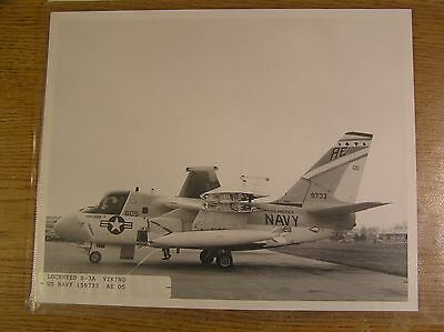 Three 8X10 photos of US Navy aircraft, S-3, A-4 and A-6