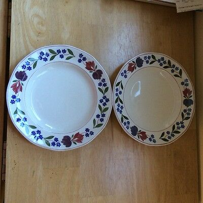 Adams Old Colonial. Two bread and butter plates