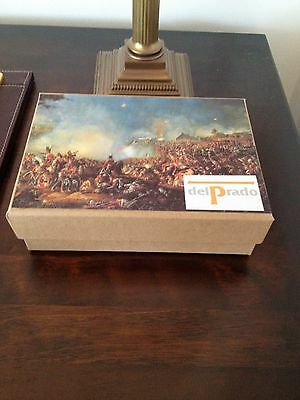 Boxed Hand Painted Heavy Napoleonic Cavalry Soldiers manf by Del Prado