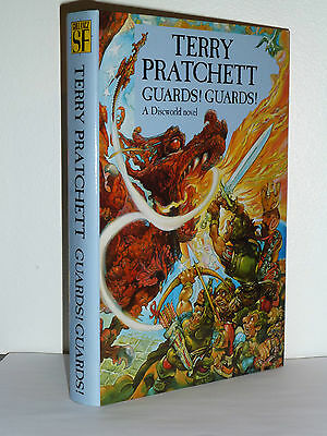 Guards Guards By Terry Pratchett, Signed, 1St Edition In Near Mint Condition