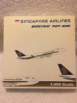 Singapore Airlines Boeing 747-400 (Scale 1:400)