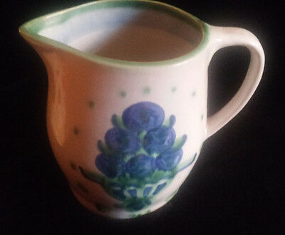 M A Hadley Pitcher 6 1/4 Inches Height