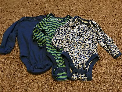 Boys Infant Long Sleeve One Piece - Old Navy - 12-18mo - Lot of 3