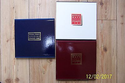 3 Royal Mail Year books (NO STAMPS) 1984, 1985, 1986. good condition but empty
