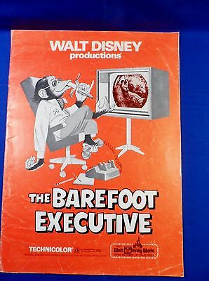 Vintage 1971 Disney Barefoot Executive with Ad Pad Press Kit Campaign Book RARE!