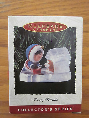 Hallmark Ornament 1993 Frost Friends 14th in Series